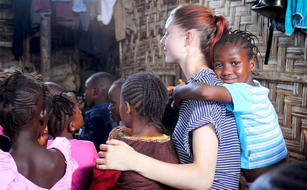 Volunteer in Sierra Leone