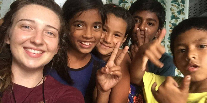 Gap Year Volunteer in India